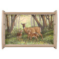 whitetail deer dining accessories